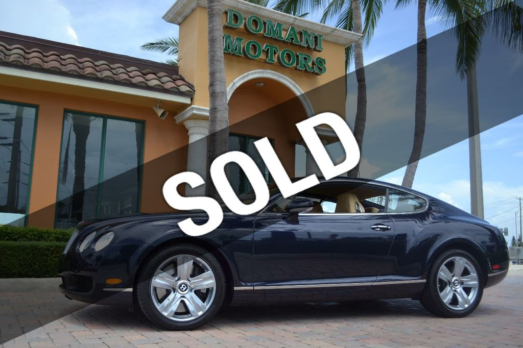 2007 Bentley Continental GT $599/ MONTH, Low Miles, Continental GT in stunning Dark Saphire - 17910406 - 0