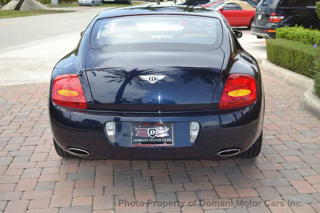 2007 Bentley Continental GT $599/ MONTH, Low Miles, Continental GT in stunning Dark Saphire - 17910406 - 15