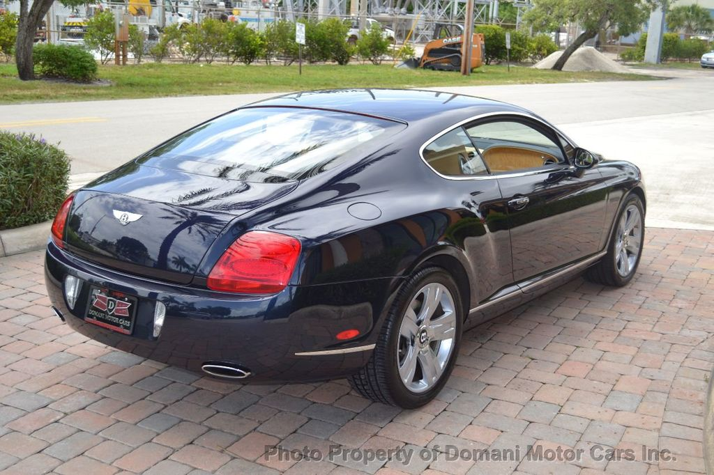 2007 Bentley Continental GT $599/ MONTH, Low Miles, Continental GT in stunning Dark Saphire - 17910406 - 16