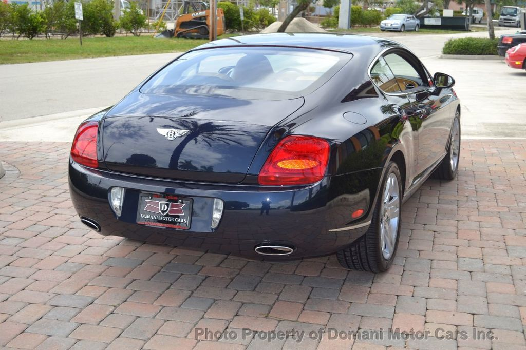 2007 Bentley Continental GT $599/ MONTH, Low Miles, Continental GT in stunning Dark Saphire - 17910406 - 17