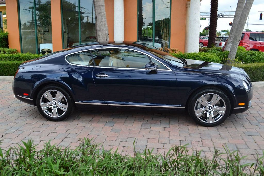 2007 Bentley Continental GT $599/ MONTH, Low Miles, Continental GT in stunning Dark Saphire - 17910406 - 19