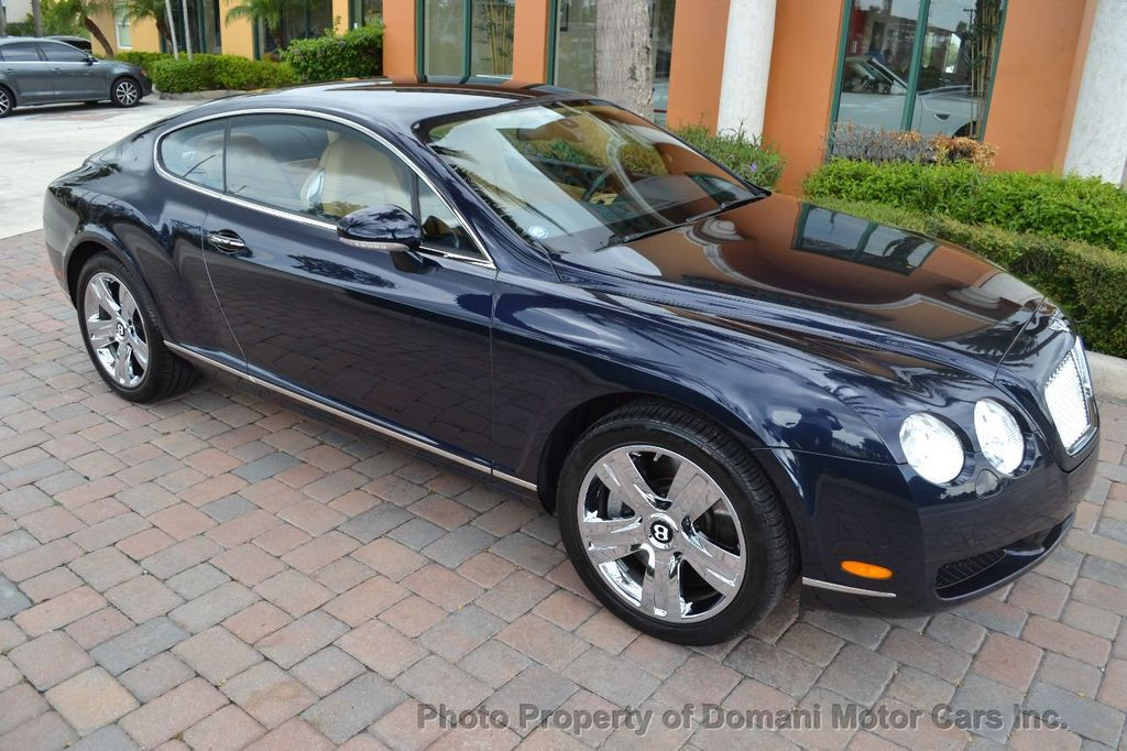 2007 Bentley Continental GT $599/ MONTH, Low Miles, Continental GT in stunning Dark Saphire - 17910406 - 20