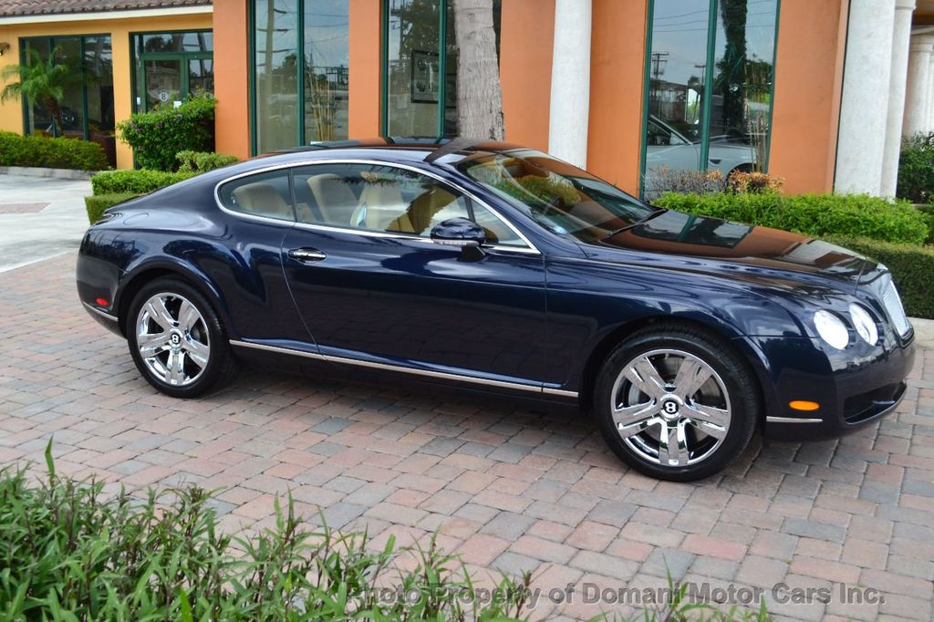 2007 Bentley Continental GT $599/ MONTH, Low Miles, Continental GT in stunning Dark Saphire - 17910406 - 21