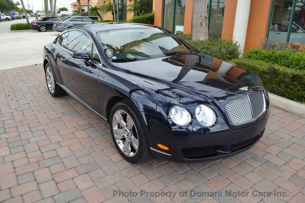 2007 Bentley Continental GT $599/ MONTH, Low Miles, Continental GT in stunning Dark Saphire - 17910406 - 22