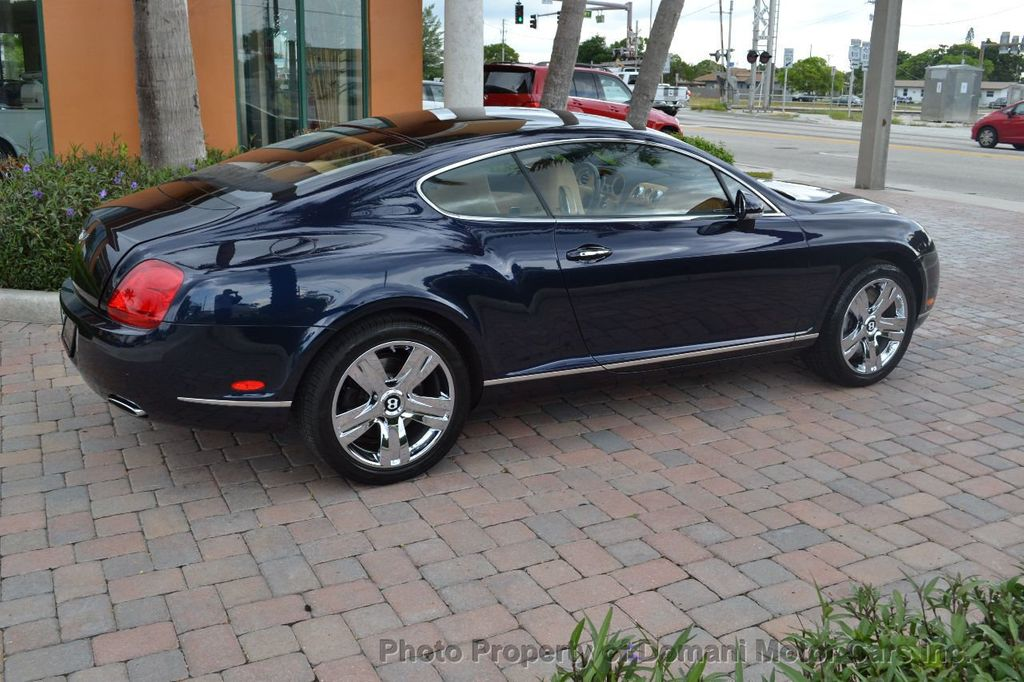 2007 Bentley Continental GT $599/ MONTH, Low Miles, Continental GT in stunning Dark Saphire - 17910406 - 30