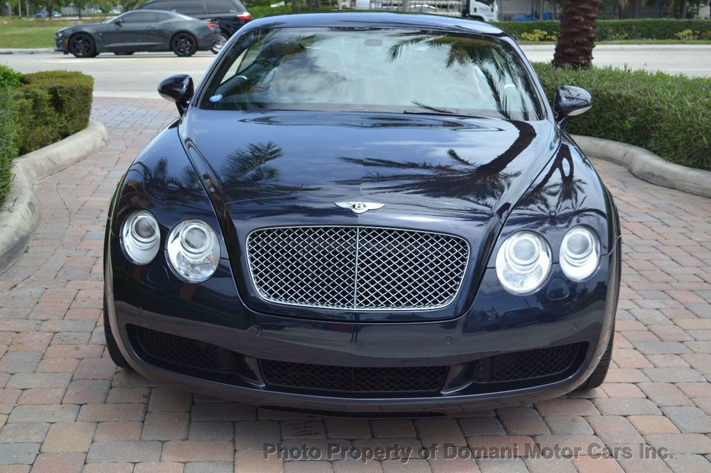 2007 Bentley Continental GT $599/ MONTH, Low Miles, Continental GT in stunning Dark Saphire - 17910406 - 3