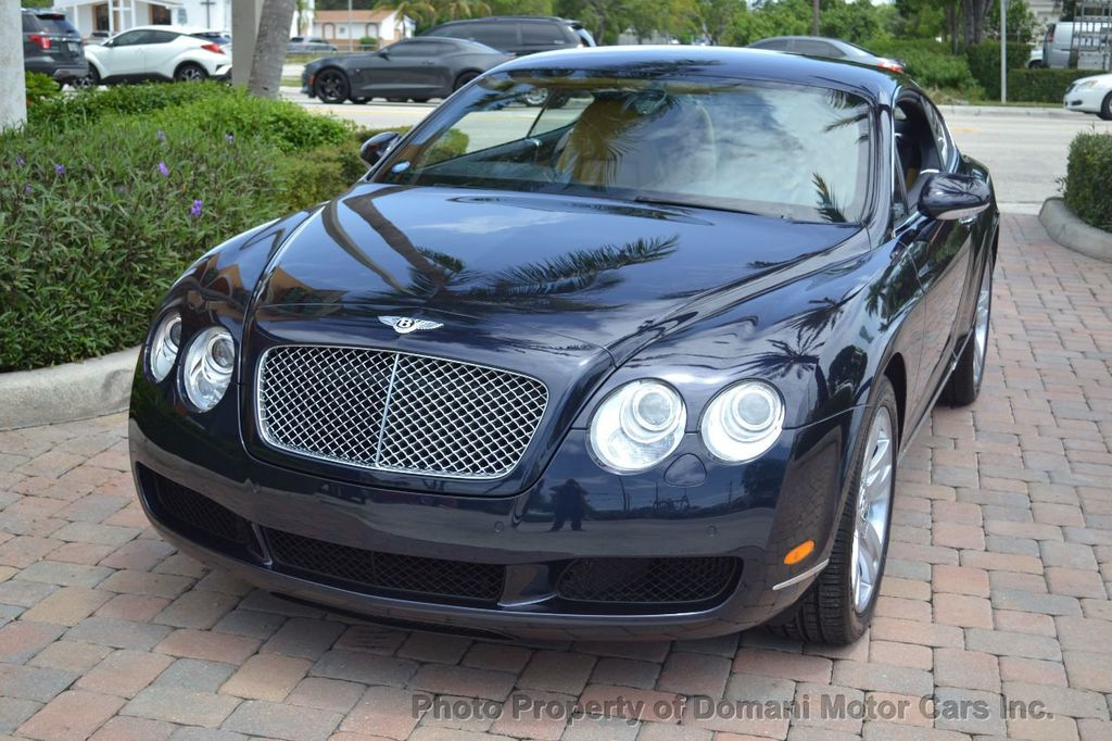 2007 Bentley Continental GT $599/ MONTH, Low Miles, Continental GT in stunning Dark Saphire - 17910406 - 4