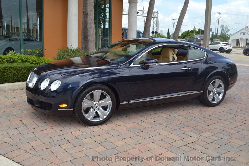 2007 Bentley Continental GT $599/ MONTH, Low Miles, Continental GT in stunning Dark Saphire - 17910406 - 6