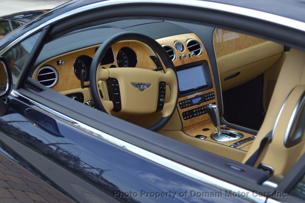 2007 Bentley Continental GT $599/ MONTH, Low Miles, Continental GT in stunning Dark Saphire - 17910406 - 88