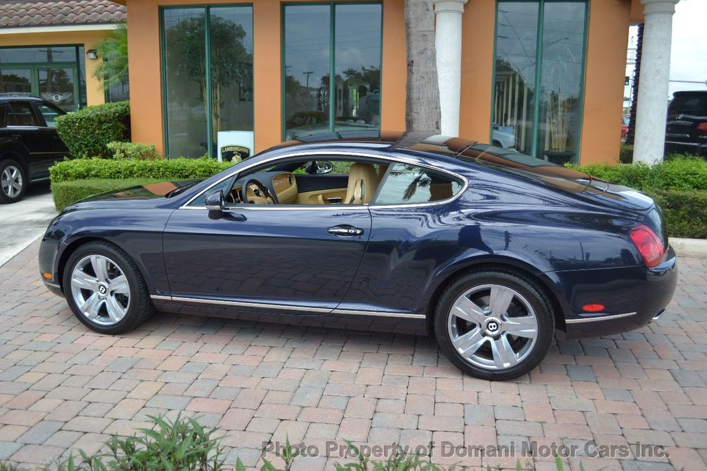 2007 Bentley Continental GT $599/ MONTH, Low Miles, Continental GT in stunning Dark Saphire - 17910406 - 8