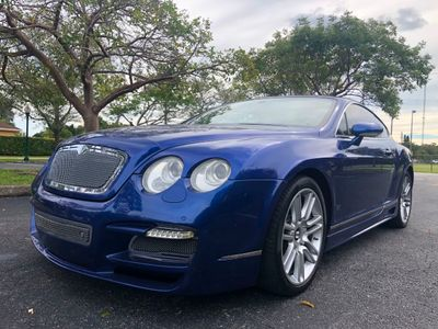 2007 Bentley Continental GT British Flag edition  Coupe