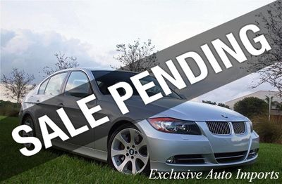 2007 BMW 3 Series 2007 BMW 335i Sedan 6-Speed Manual iDrive Navi Loaded!