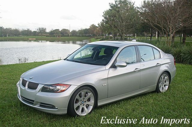 2007 BMW 3 Series 2007 BMW 335i Sedan 6-Speed Manual iDrive Navi Loaded! - Click to see full-size photo viewer