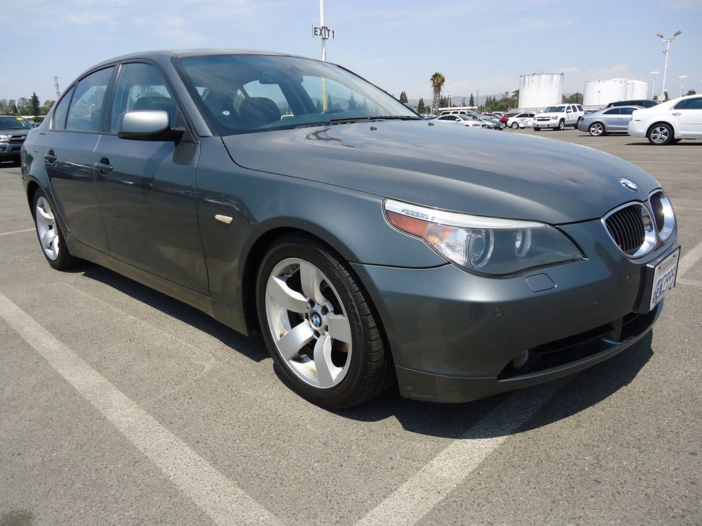 2007 used bmw 5 series 525i at california car auction serving costa mesa iid 16647004. Black Bedroom Furniture Sets. Home Design Ideas