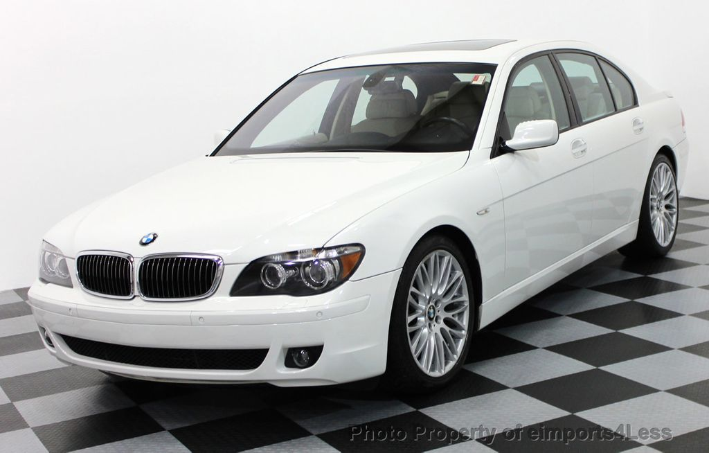 2007 BMW 7 Series CERTIFIED 750i SPORT PACKAGE SEDAN
