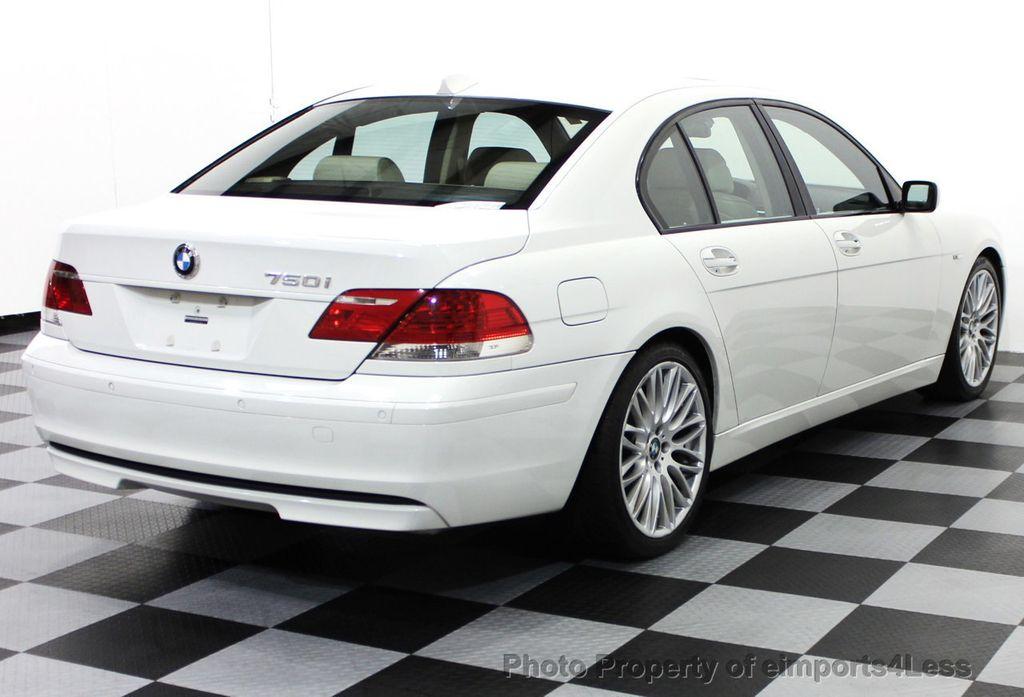 2007 Used BMW 7 Series CERTIFIED 750i SPORT PACKAGE SEDAN at ...