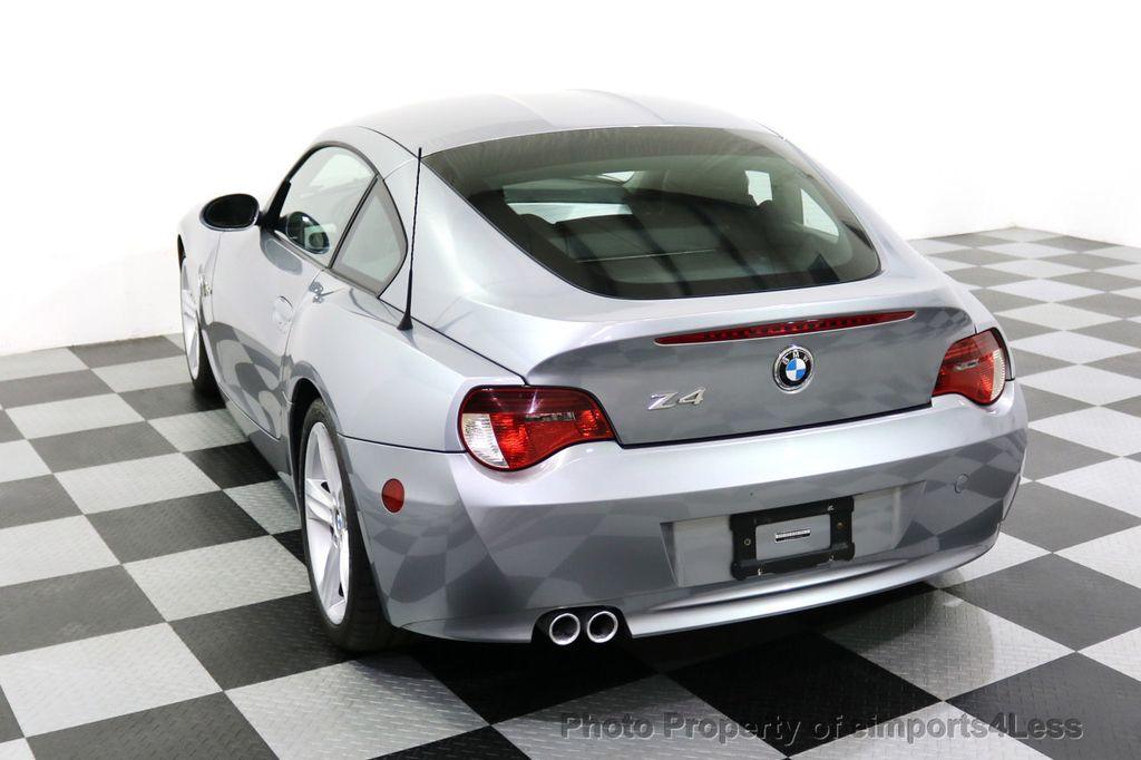 2007 BMW Z4 CERTIFIED Z4 3.0Si Sport / Premium NAVIGATION - 18006909 - 27