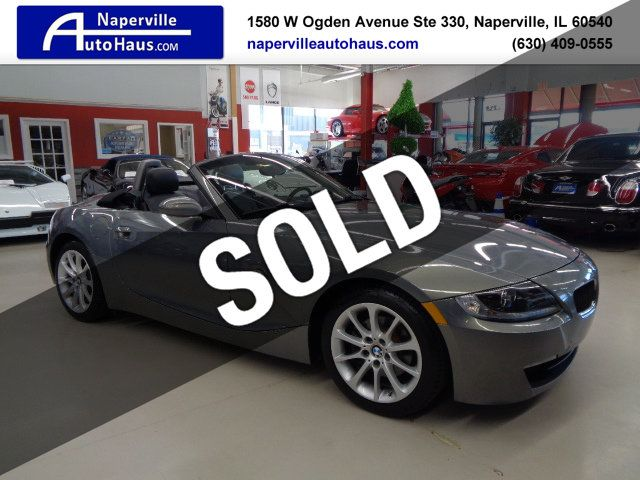 Bmw Z4 Roadster >> 2007 Used Bmw Z4 Roadster 3 0i At Naperville Auto Haus Il Iid 18717340