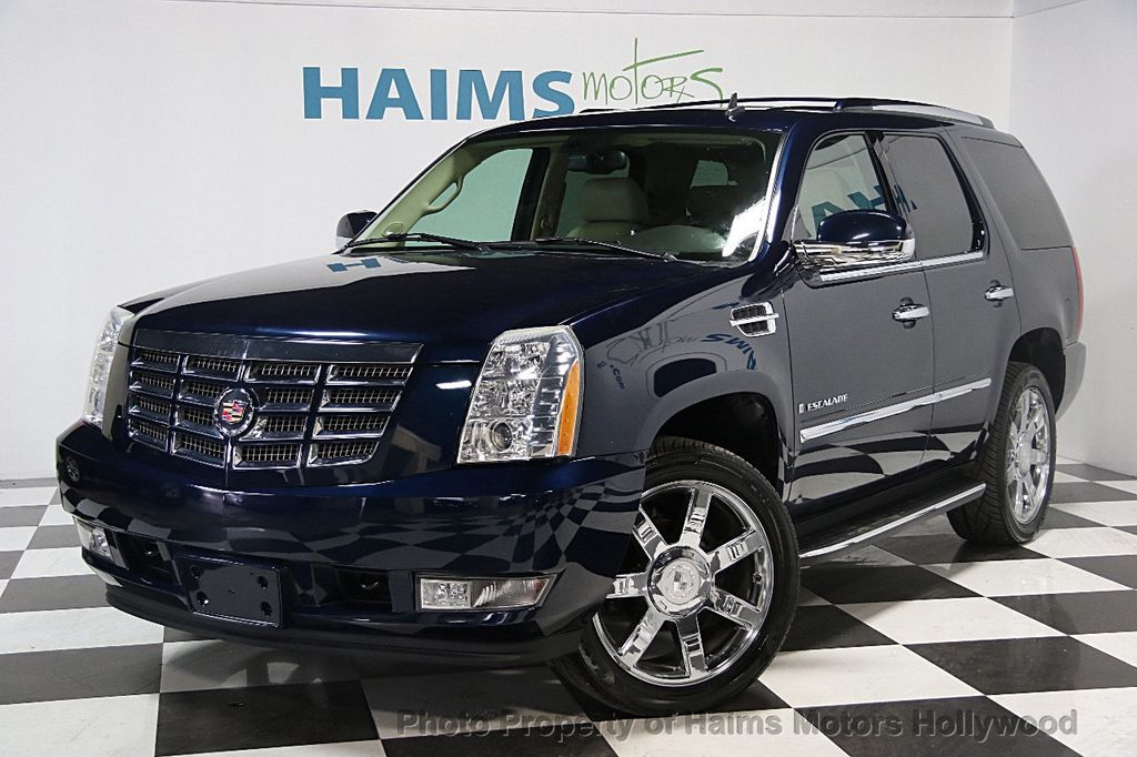 2007 used cadillac escalade awd 4dr at haims motors serving fort lauderdale hollywood miami. Black Bedroom Furniture Sets. Home Design Ideas