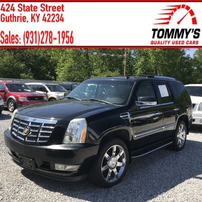 Used Cadillac Escalade at Tommy's Quality Used Cars Serving