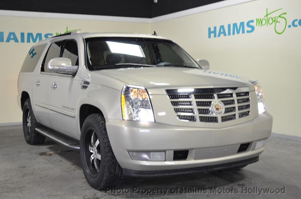 2007 Used Cadillac Escalade Esv Awd 4dr At Haims Motors Serving Fort