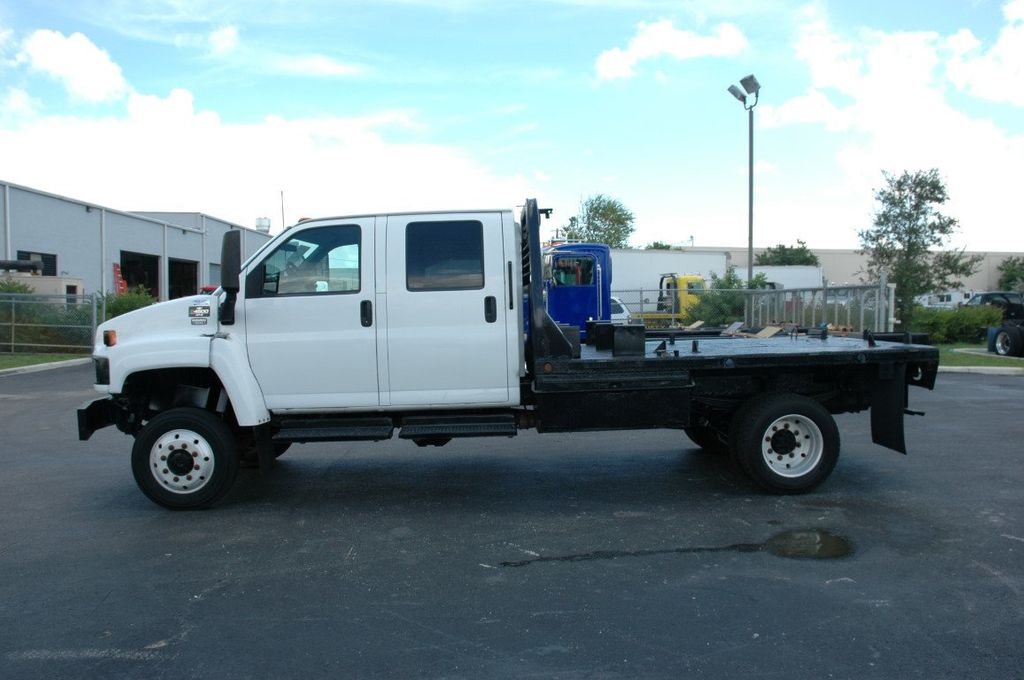 2007 Used Chevrolet C5500 4x4 Crew Cab 12ft Steel Flatbed At Tlc Truck Equipment Ft Myers Serving Fort Myers Fl Iid 15423927