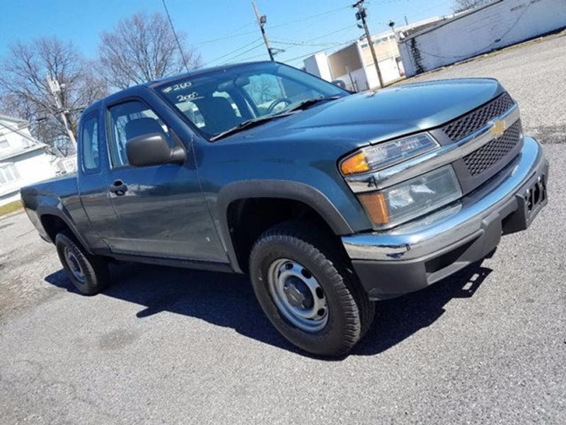 2007 Used Chevrolet Colorado 4x4 Ext Cab At Contact Us Serving