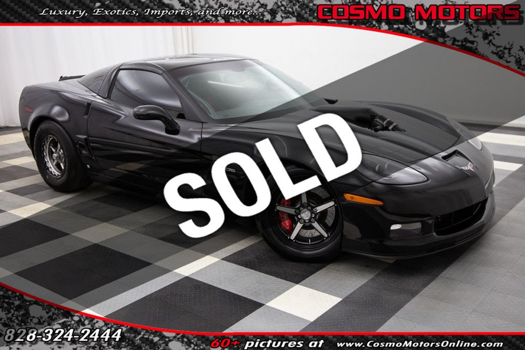 2007 Used Chevrolet Corvette 2dr Coupe Z06 at Cosmo Motors Serving Hickory,  NC, IID 18804647