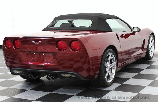2007 used chevrolet corvette certified corvette z51 3lt convertible rh eimports4less com