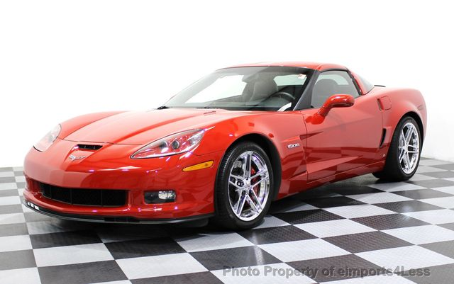 2007 Chevrolet Corvette CERTIFIED Z06 2LZ 6 SPEED BOSE NAVIGATION  - 16513608 - 0