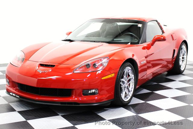 2007 Chevrolet Corvette CERTIFIED Z06 2LZ 6 SPEED BOSE NAVIGATION  - 16513608 - 12
