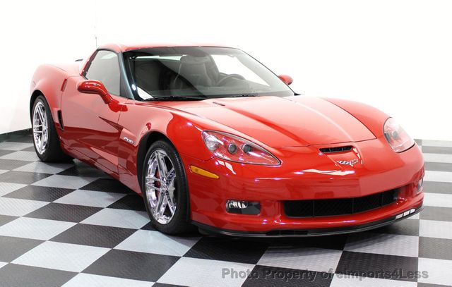 2007 Chevrolet Corvette CERTIFIED Z06 2LZ 6 SPEED BOSE NAVIGATION  - 16513608 - 1