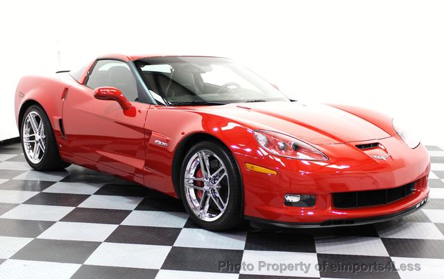 2007 Chevrolet Corvette CERTIFIED Z06 2LZ 6 SPEED BOSE NAVIGATION  - 16513608 - 24