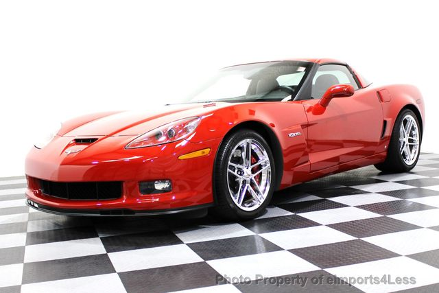 2007 Chevrolet Corvette CERTIFIED Z06 2LZ 6 SPEED BOSE NAVIGATION  - 16513608 - 56