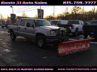 2007 Chevrolet Silverado 2500HD HD PLOW TRUCK - Click to see full-size photo viewer
