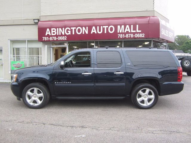 2007 Chevrolet Suburban 2007 CHEVROLET SUBURBAN LTZ BLUE ON BLACK LEATHER