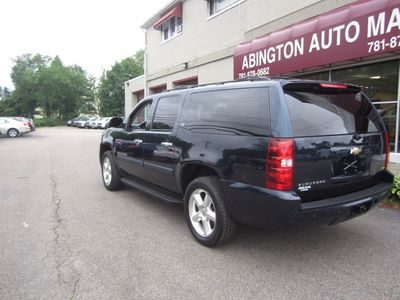 2007 Chevrolet Suburban 2007 CHEVROLET SUBURBAN LTZ BLUE ON BLACK LEATHER  - Click to see full-size photo viewer