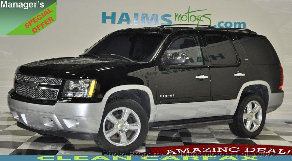 Miami Used Chevrolet >> 2007 Used Chevrolet Tahoe 4wd 4dr 1500 Ltz At Haims Motors Serving