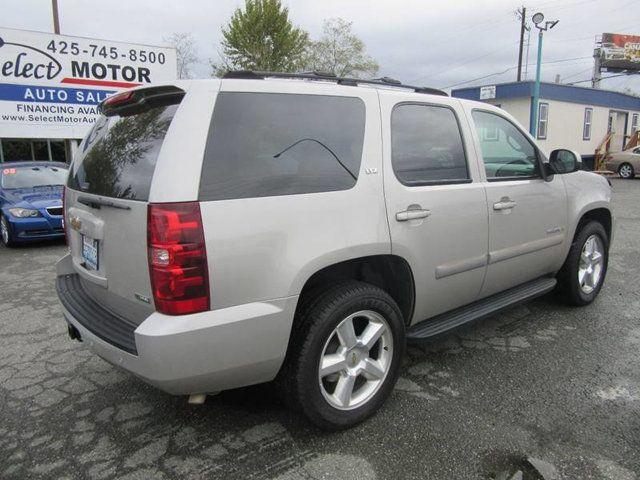 2007 Chevrolet Tahoe Ltz >> 2007 Chevrolet Tahoe 4wd 4dr 1500 Ltz Suv For Sale Lynnwood Wa 15 988 Motorcar Com