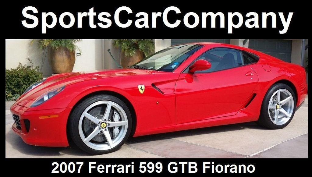 2007 Ferrari 599 GTB Fiorano 2dr Coupe - 15480049 - 0