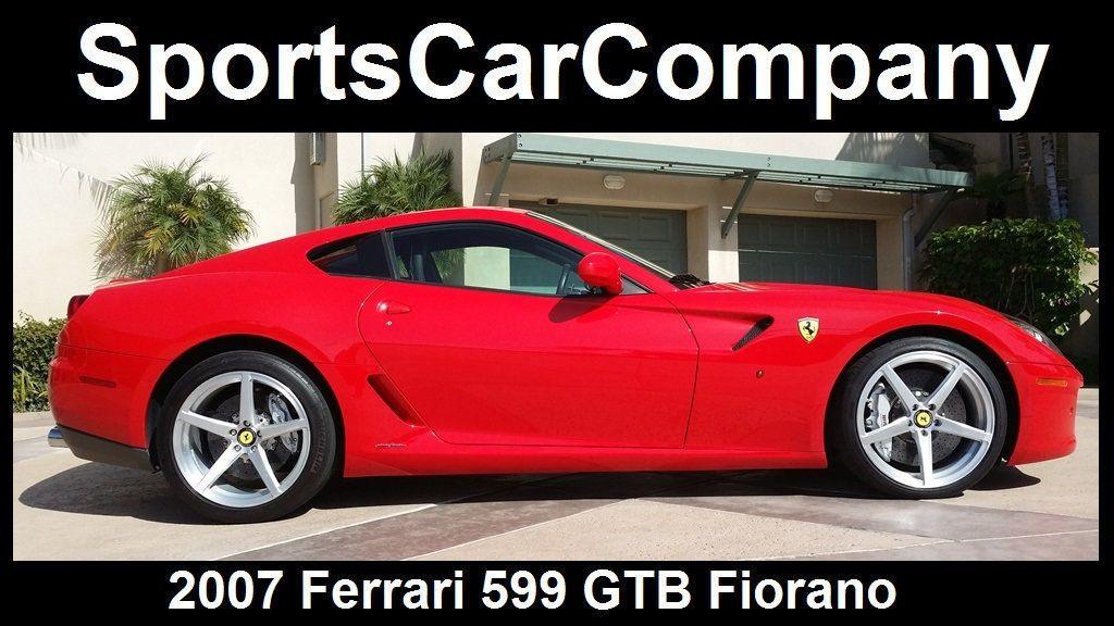 2007 Ferrari 599 GTB Fiorano 2dr Coupe - 15480049 - 1