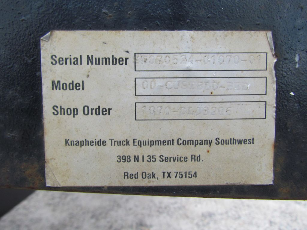 2007 Flatbed Steel Floor  - 17470452 - 11