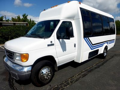 2007 Ford E450 21 Seat Federal Shuttle Bus For Senior Tour Charter Student Church Worker Transport