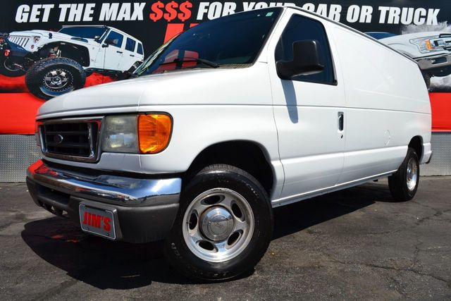 2007 Used Ford Econoline Cargo Van Ford E150 Super Duty Commercial Cargo at  Jim's Auto Sales Serving Harbor City, CA, IID 19278907