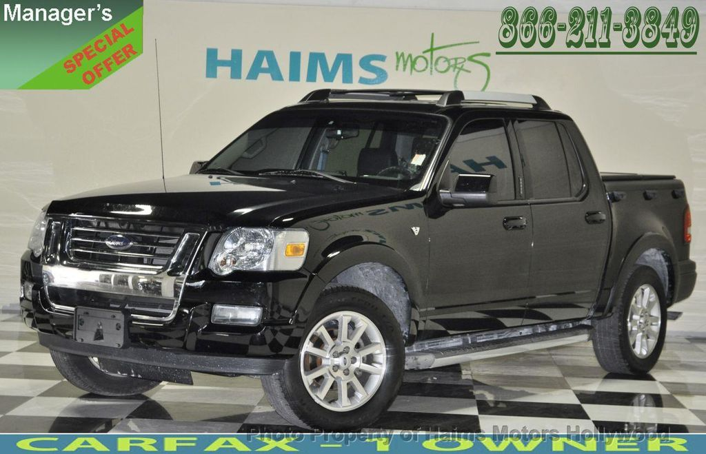 2007 Used Ford Explorer Sport Trac 4wd 4dr V8 Limited At Haims