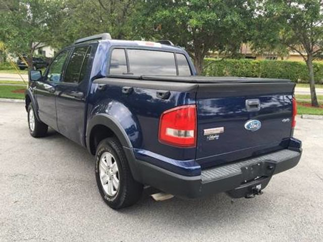 2007 Used Ford Explorer Sport Trac 4wd 4dr V8 Xlt At A Luxury Autos