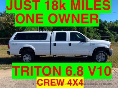 2007 Ford F350HD 4x4 SRW CREW CAB 6.8 V10 TRITON ONE OWNER SUPER CLEAN!!! HARD TO FIND FULL 1 TON WITH V10!!! Truck