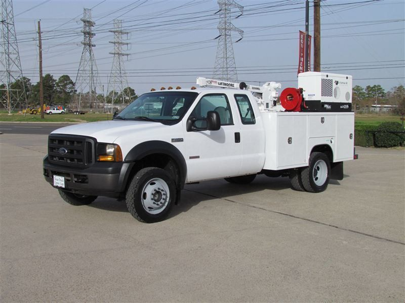 2007 Ford F450 Mechanics Service Truck 4x4 - 7073797 - 15