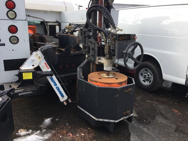 2007 Ford F550 Utilicore MD-100 Coring Drill W/ Hydraulic Extension/ Water/Crane - 15661011 - 12