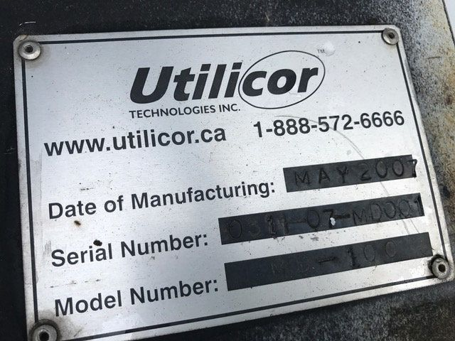 2007 Ford F550 Utilicore MD-100 Coring Drill W/ Hydraulic Extension/ Water/Crane - 15661011 - 32
